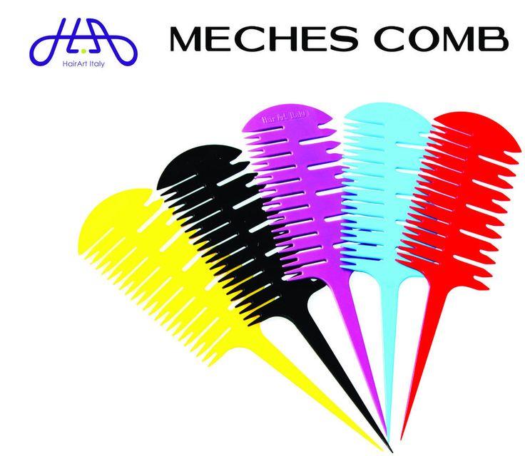 PETTINE MECHES COMB PER COLPI DI SOLE HairArt Italy 7.00 euro total