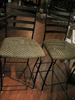 How to recover ugly chairs {Trash to Treasure DIY}by Just A Little ...