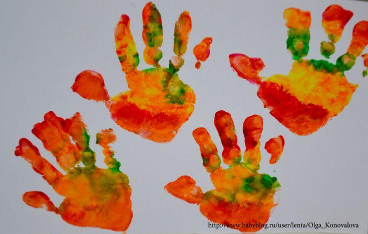 Наша открытка бабушке на 8 Марта - Игры с детьми - Babyblog.ru