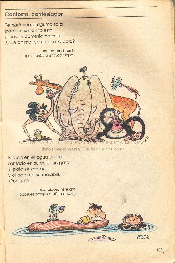 Libros de Primaria de los 80's