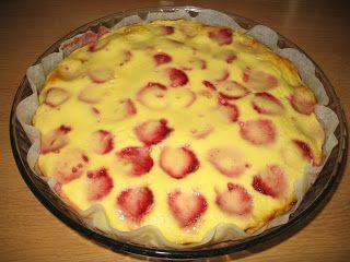 Pörden Keittiössä: Mansikkapiirakka