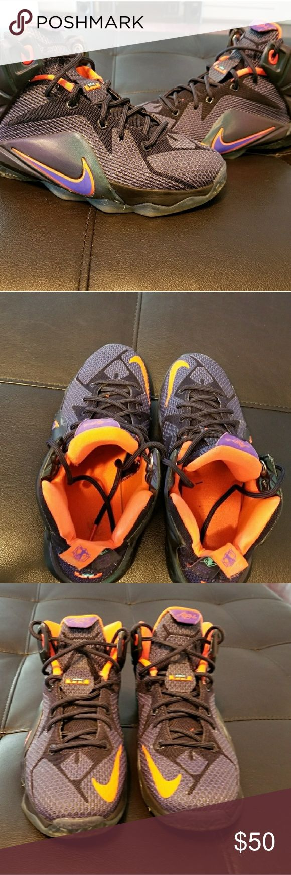 Lebron James Sneakers. Grade school size 4 Nike Lebron James..Big kids size 4...Excellent condition..worn only 2x Nike Shoes Sneakers