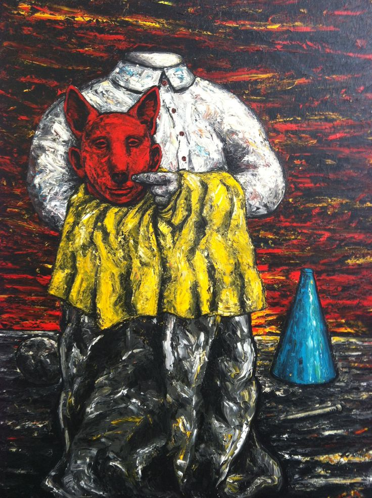 Peter Booth Painting - Ballarat Art Gallery