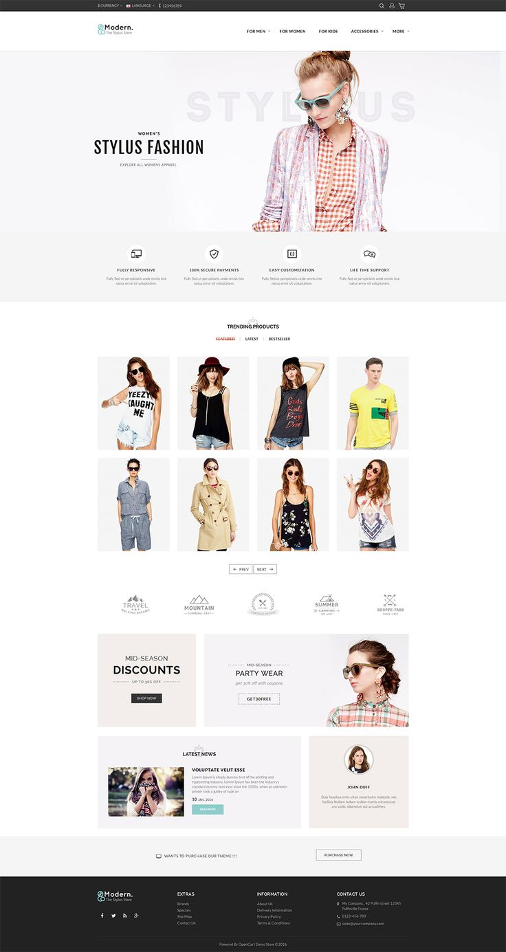#Fashion #Unique #Minimal #Jewelry #eCommerce #Modern - #Opencart Multi Purpose #Responsive #Theme