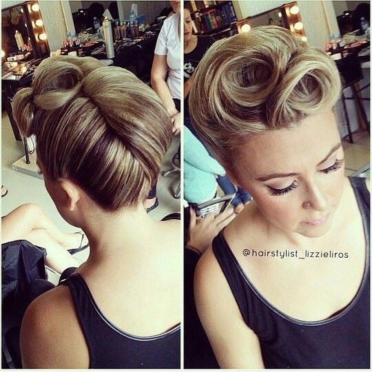 hair perm styles pictures best 25 roll hairstyle ideas on 8107