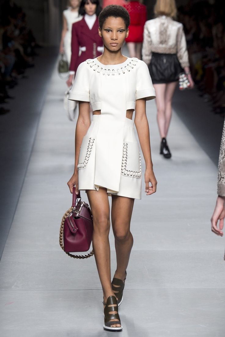 Fendi Spring 2016 is here. See the entire collection on Vogue.com