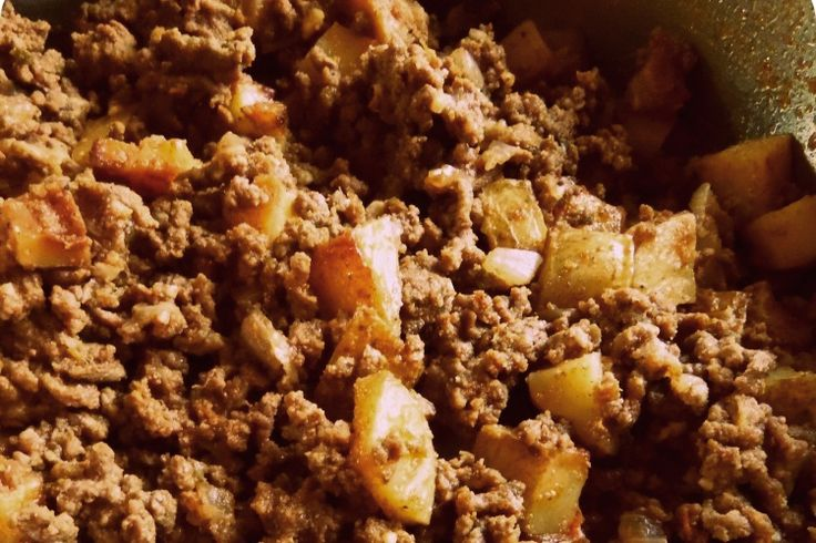 Mom's Beef Picadillo With Potatoes | Hispanic Kitchen