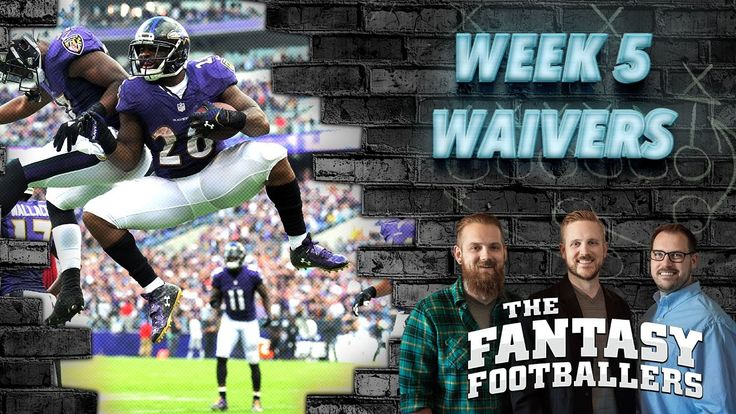 Fantasy Football 2016 - Week 5 Waivers, Streams of the Week, Injury News - Ep. #278 - Fantasy FootBall Videos