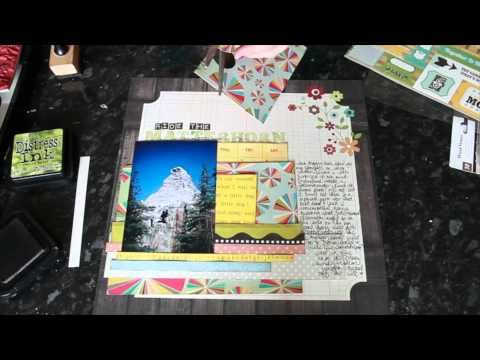 97 best Scrapbook Layout Videos images on Pinterest Scrapbook