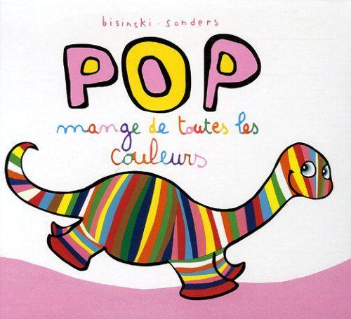 Pop mange de toutes les couleurs - Thème des formes et des couleurs