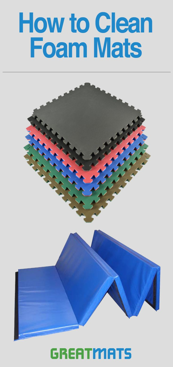 How To Clean Eva Foam Rubber Tiles Or