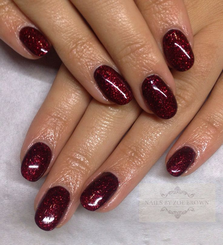 CND shellac ruby ritz and Blackpool