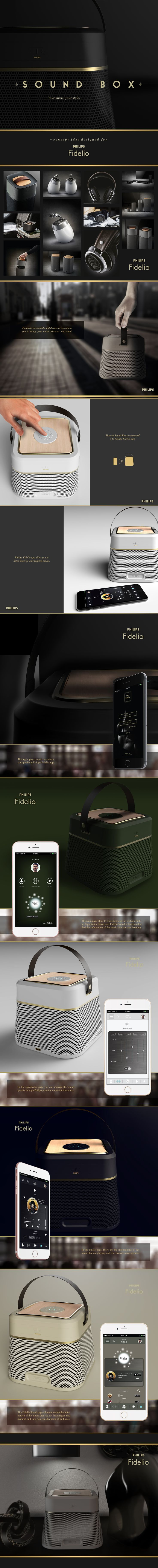 """Consulta este proyecto @Behance: """"Sound Box - a Philips concept about a bluetooth speaker"""" https://www.behance.net/gallery/45888667/Sound-Box-a-Philips-concept-about-a-bluetooth-speaker"""