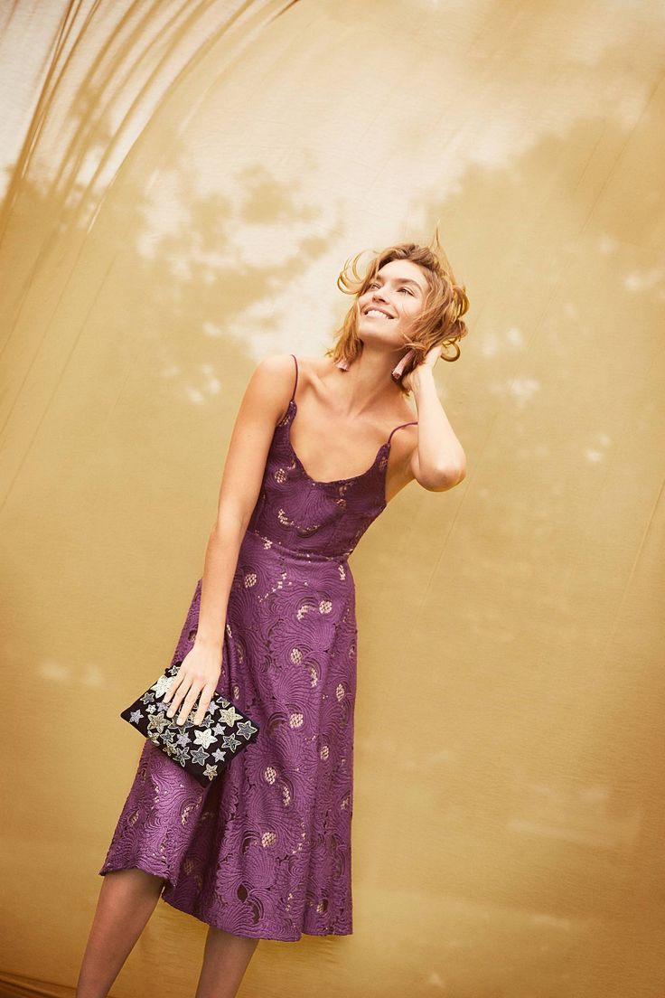 Slide View: 5: Scalloped Lace Dress