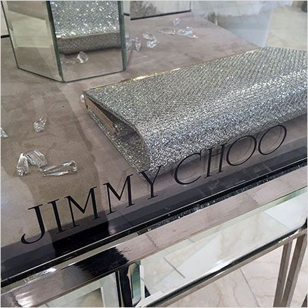 The conundrum here, present the merchandise, or merchandise the Jimmy Choo® brand name. I support the implemented choice of a visual hierarchyof merchandise style and fashion first, reinforced by …