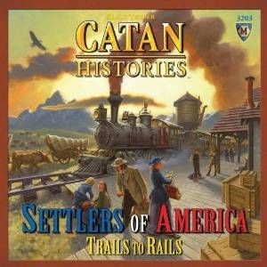 Amazon.com: Catan Histories: Settlers of America Trails to Rails: Toys & Games @giftryapp