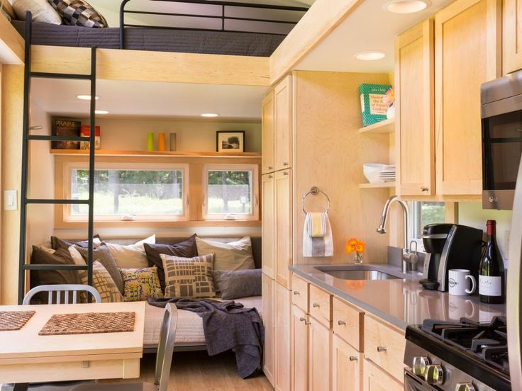 13 Cool Tiny Houses On Wheels. Modern House DesignModern HousesSmall ...