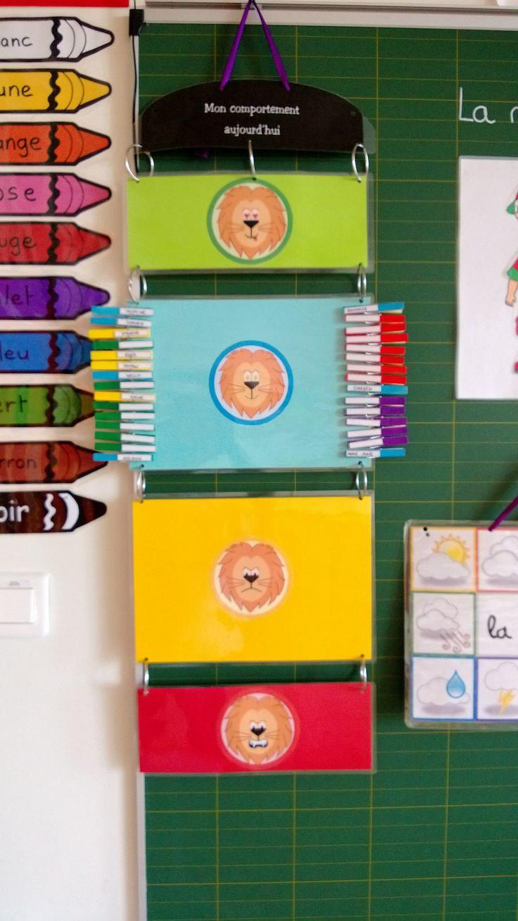 Populaire 12 best comportement classe images on Pinterest | Organization  VE46