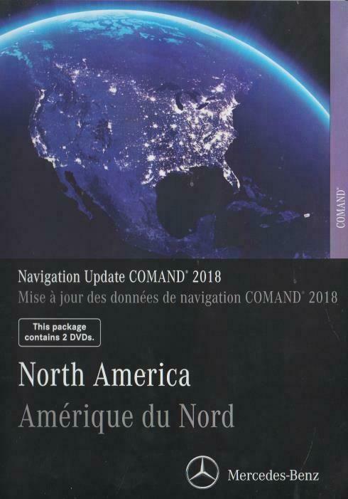 Mercedes-Benz North America Navigation Update Comand 2018 18 0 2
