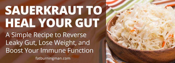 How to Make Homemade Sauerkraut to Heal Your Gut (Wild Diet, Paleo-Friendly)
