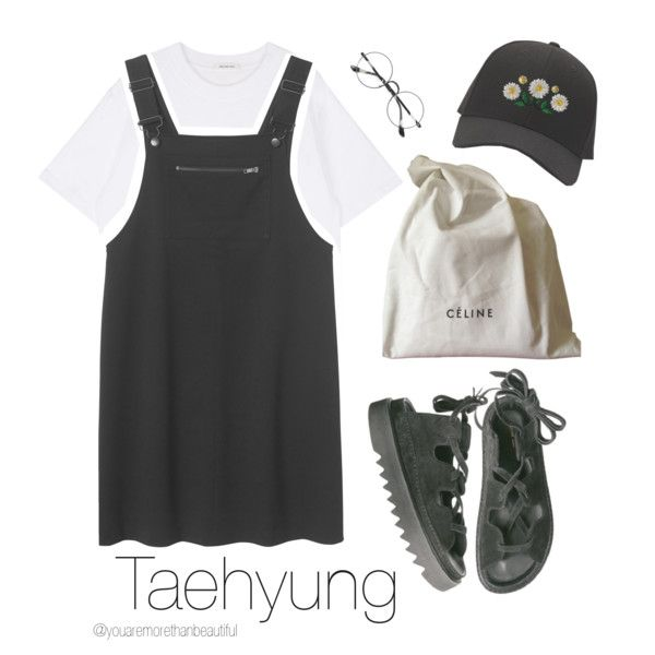Back to School / BTS by youaremorethanbeautiful on Polyvore featuring polyvore, fashion, style, Monki, CÉLINE, Chicnova Fashion and clothing