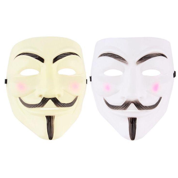 V For Vendetta Mask Halloween Costume
