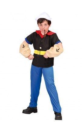 Disfraz de Marinero Popeye para niño
