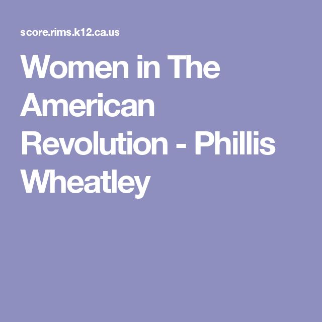 a biography of phillis wheatley the african american poet Phillis wheatley (may 8, 1753 – december 5, 1784) was a poetshe was the first african-american person to have a book published she was born in west africait is not known which country she.