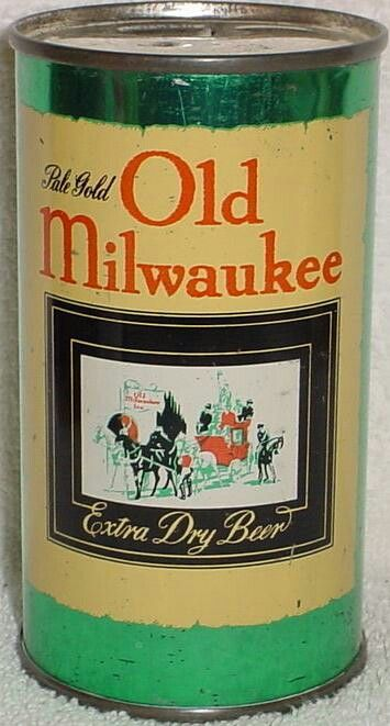 Old Milwaukee Extra Dry Beer - 1957