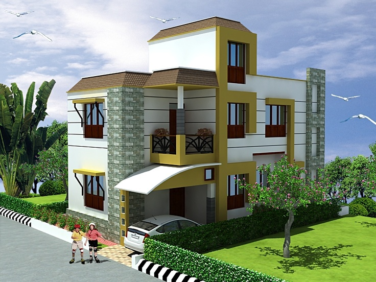 Triplex 3 Floors House Design Click On This Link Http