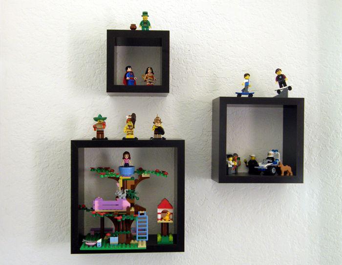 Lego display | Legobitar, Sök och Hyllor