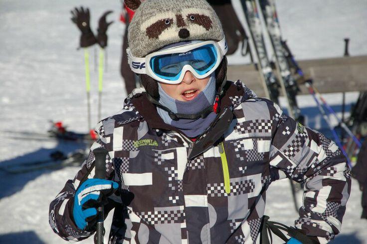 Racoon on the Helmet :-)