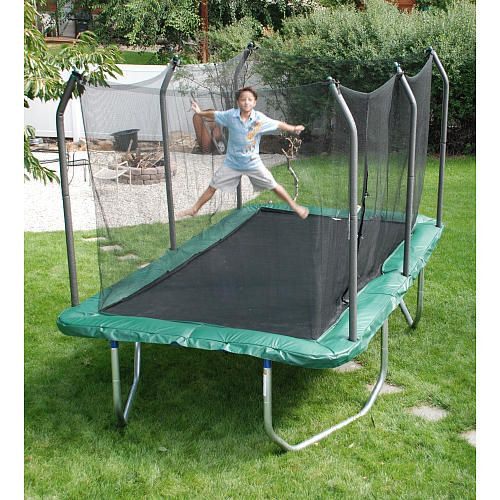 Skywalker 14 Foot Square Trampoline And Enclosure With: I WANT!!!!!! Skywalker 8 Foot X 14 Foot Rectangle