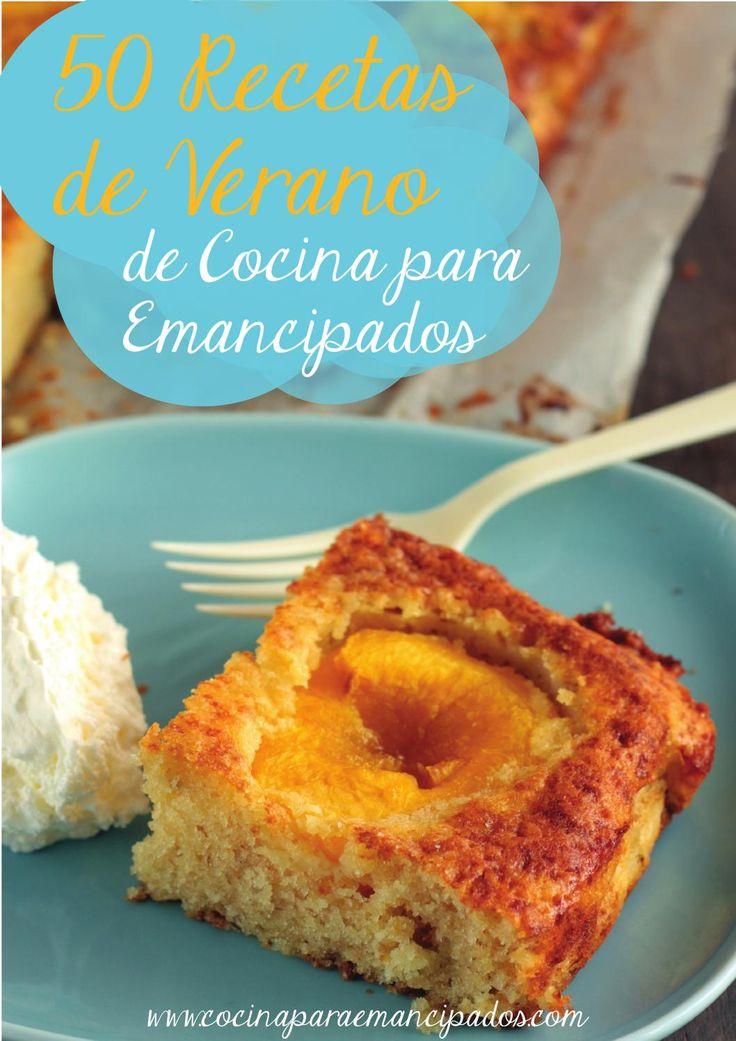 50 Recetas de Verano  50 Recetas de Verano por cocinaparaemancipados.com