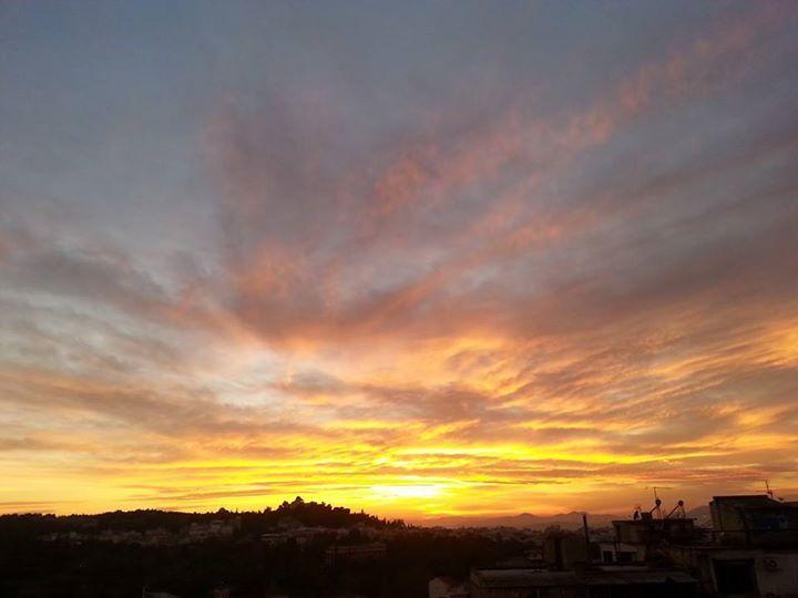 AthenStyle Rooftop Bar! Amazing sunset!