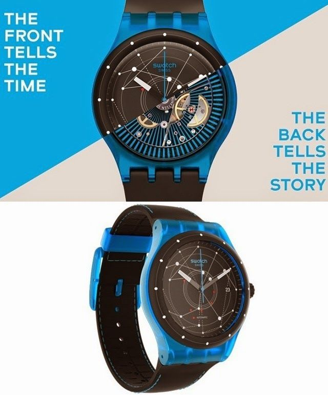 Swatch System51 Revolutionary Mechanical Watches