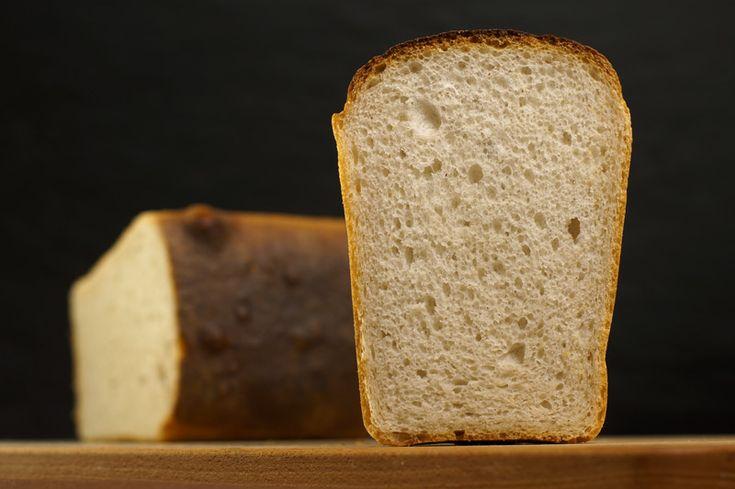 Хлеб из муки в/с на большой опаре без залива.
