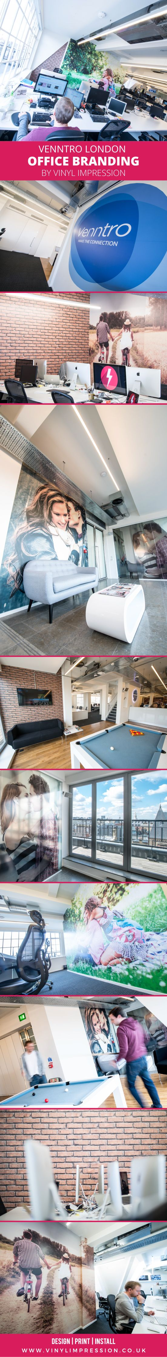 1044 best office wall graphics images on pinterest office wall large wall murals and brick pattern wallpaper designed printed installed by vinyl impression