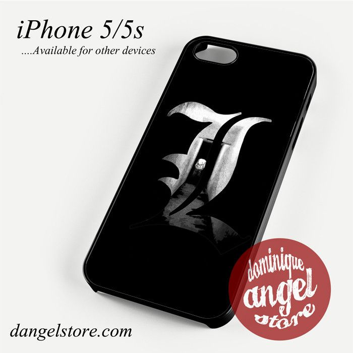 Death Note L Phone Case for iPhone 4/4s/5/5c/5s/6/6s/6 plus