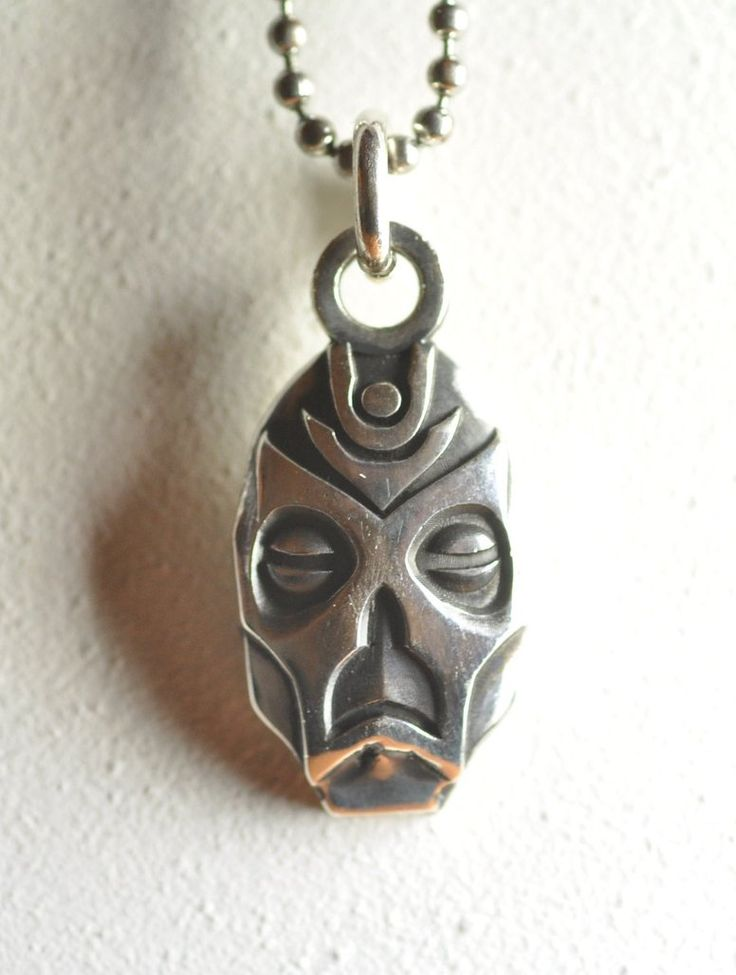 skyrim - dragon priest mask necklace