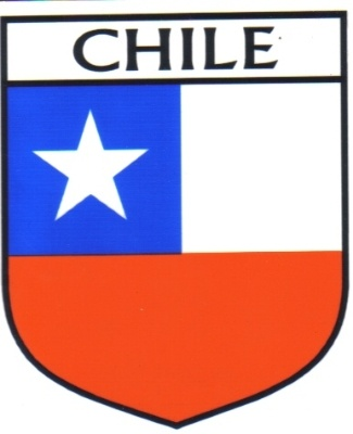 CHILE Flag Country CHILE Flag Sticker