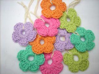 Easy FlowersFlower Charts, Crochet Flower Pattern, Flower Tutorials, Peasy Flower, Flowers, Flower Crochet, Crochet Pattern, Easy Peasy, Crochet