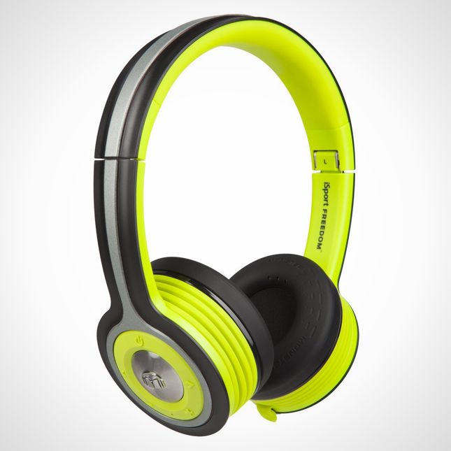 Jam out at the gym with these monster-sized headphones.