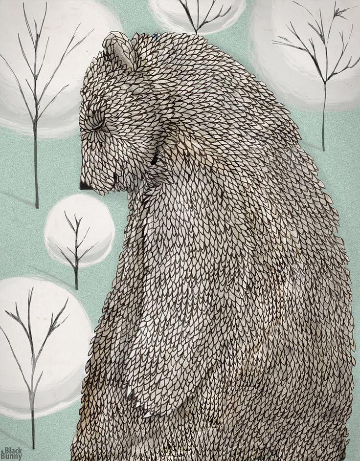 Bear | Black Bunny