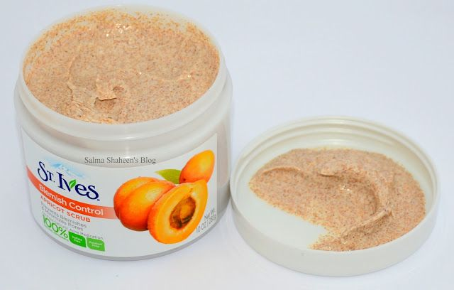 st. ives blemish control apricot scrub - review | Salma Shaheen's Blog