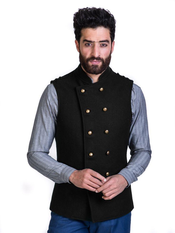 Buy Mens Nehru Jackets Online | Maroon Cotton Nehru Jackets | Mr Button
