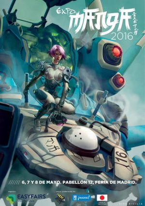 Expomanga 2016 - Madrid, España, 6 al 8 de mayo 2016 ~ Kagi Nippon He ~ Anime Nippon-Jin