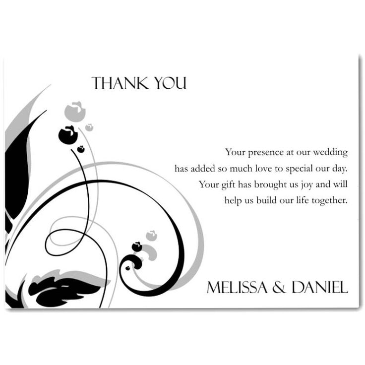 Wording For Thank You Cards For Wedding Gifts: Best 25+ Thank You Card Wording Ideas On Pinterest