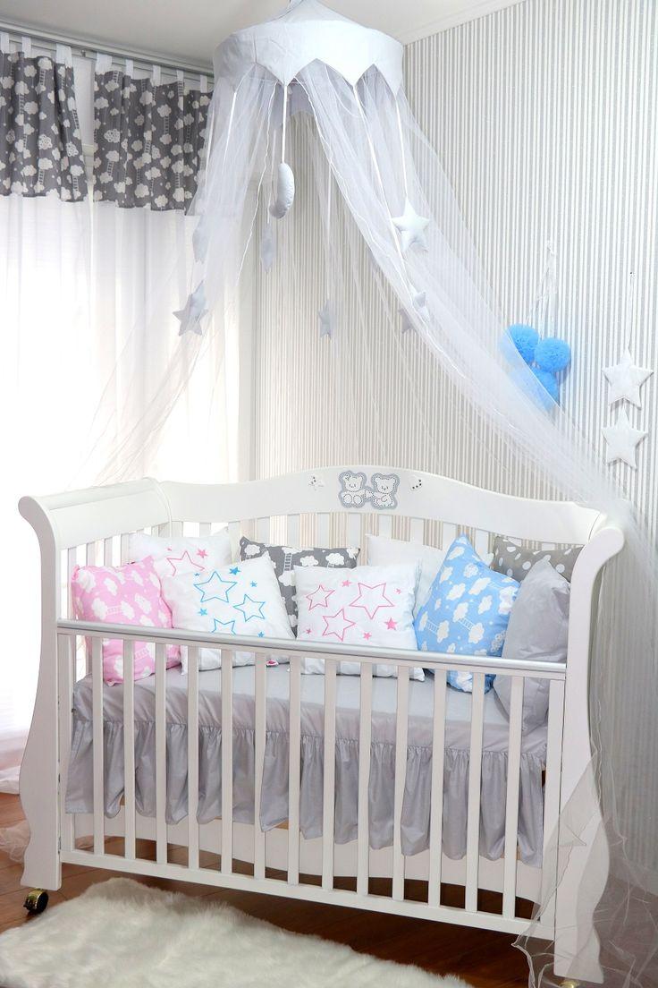 Baldachin & Moskitonetz 2in1 für jedes Kinderbett