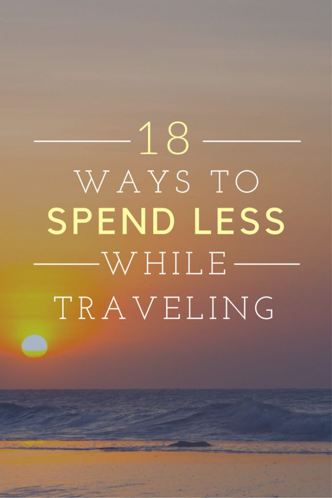 Now that you've saved your money for the trip of your dreams, here's a post on how to maximize that money while you're on the road!